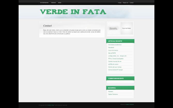 VerdeInFata.ro